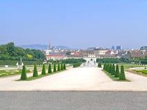Belvedere tuinen Royalty-vrije Stock Afbeelding