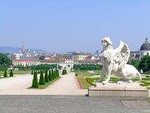 Belvedere tuinen Royalty-vrije Stock Foto