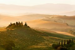 Belvedere of Tuscany Royalty Free Stock Photos