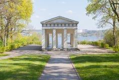 Belvedere van de Geektempel vooruitzicht in Neubrandenburg, Duitsland Royalty-vrije Stock Afbeeldingen