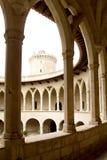 Belvedere van het kasteel in Majorca Royalty-vrije Stock Foto