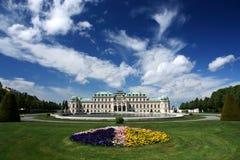 Belvedere van Schloss Stock Foto's