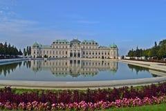 Belvedere van Schloss Stock Afbeeldingen