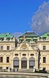 Belvedere van Schloss Stock Afbeelding