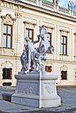 Belvedere van Schloss Royalty-vrije Stock Foto