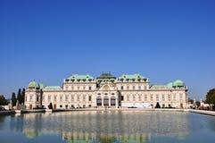 Belvedere van Wenen Stock Fotografie