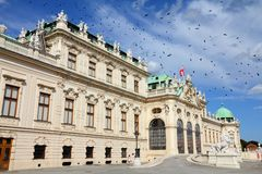 Belvedere, Viena foto de stock