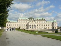 Belvedere Vienna fotografia stock