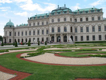 Belvedere, Vienna Fotografie Stock Libere da Diritti