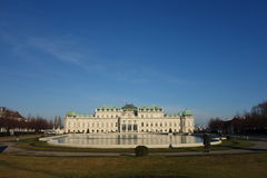 Belvedere Vienna Stock Photography