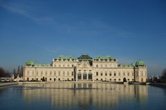 Belvedere Vienna Royalty Free Stock Photos