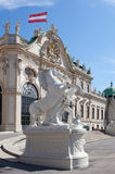 Belvedere in Vienna; Austria Stock Photos
