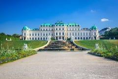 Belvedere, Vienna Austria Royalty Free Stock Photo