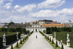 Belvedere, Vienna Royalty Free Stock Photo