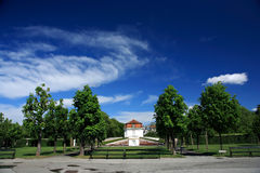 Belvedere, Wenen Stock Fotografie