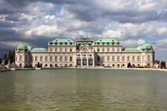 Belvedere, Wenen royalty-vrije stock fotografie