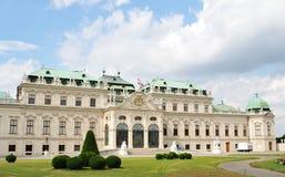 Belvedere, Wenen royalty-vrije stock foto