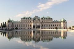 Belvedere Wien, Österreich Stockbild