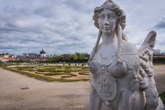 Belvedere in Wien Lizenzfreie Stockfotografie