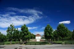 Belvedere, Wien Stockfotografie