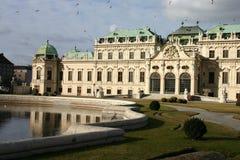 Belvedere, Wien Stockfotos