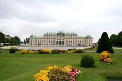 belvedere zamku fotografia stock