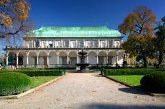 belvederen arbeta i trädgården prague Royaltyfria Bilder