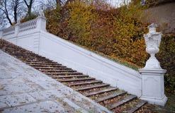 Belvederen parkerar i Wien, Österrike arkivbilder
