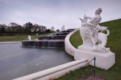 Belvederen parkerar skulptur i Wien, Österrike arkivbild