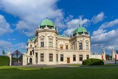 Belvederepalast Wien, Österreich Stockbilder