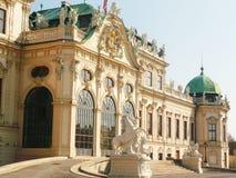 Belvedereslott i Wien Royaltyfri Bild