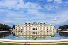 Belvedereslott, Wien, Österrike Royaltyfri Fotografi