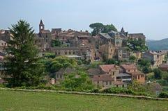 Belves, Francia Fotografia Stock Libera da Diritti