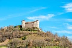 belvoir城堡在法国 库存图片