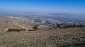 Belvoir Fortress. Belvoir Ancient Crusaders Fortress, Jordan Valley, Israel Jordan Star Royalty Free Stock Image