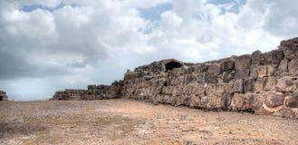 Belvoir castle ruins in Galilee Stock Photo