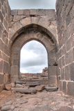 Belvoir castle ruins in Galilee Stock Image
