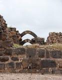 Belvoir castle ruins in Galilee Royalty Free Stock Image