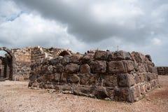 Belvoir castle ruins in Galilee Stock Photography
