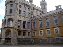 Belvoir Castle Rutland Stock Image