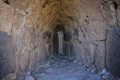 Belvoir Fortress. Belvoir Ancient Crusaders Fortress, Jordan Valley, Israel Jordan Star Royalty Free Stock Photography