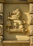 Belwarp ha scolpito in pietra fotografie stock
