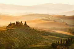 belweder Tuscany fotografia royalty free