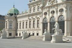 Belwederu pałac Zdjęcia Stock