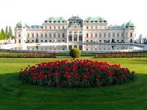 belwederu pałac Vienna Obraz Royalty Free