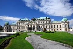 belwederu pałac Vienna Obrazy Stock