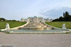 belwederu pałac Vienna Obraz Stock