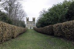 Belwederu wierza, Claremont krajobrazu ogród, Esher, Zjednoczone Królestwo Fotografia Royalty Free