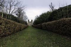 Belwederu wierza, Claremont krajobrazu ogród, Esher, Zjednoczone Królestwo Zdjęcie Royalty Free