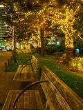 Belysning Tokyo för Japan nattsikt arkivfoton